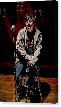 Sound Check Canvas Print by Patricio Lazen