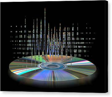 Sound Waves Canvas Print by Gill Billington