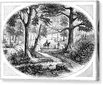 South Carolina Battlefield Canvas Print by Granger