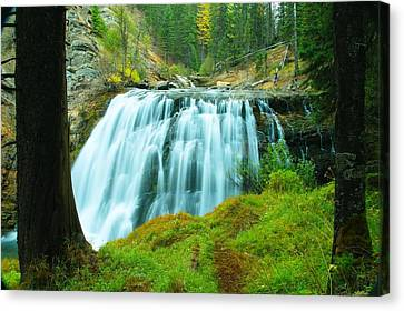 South Fork Falls  Canvas Print by Jeff Swan