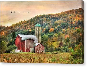 Southbound Canvas Print by Lori Deiter