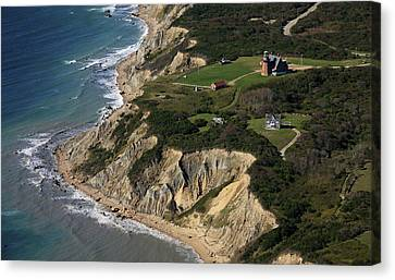 Southeast Light, Block Island Canvas Print by Dave Cleaveland
