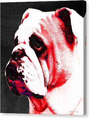 Southern Dawg By Sharon Cummings Canvas Print by Sharon Cummings