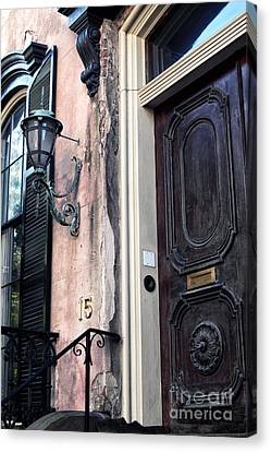 Southern Door Canvas Print by John Rizzuto