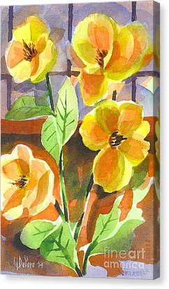 Southern Magnolias Canvas Print by Kip DeVore