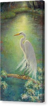 Southern Serenity  Canvas Print by Lori  McNee