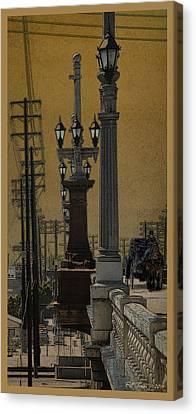 Southside Bridge Canvas Print by Bill Jonas