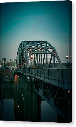 Southside Bridge  Canvas Print by Shane Holsclaw