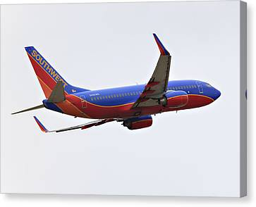 Southwest Skies Canvas Print by Ricky Barnard