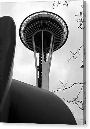 Space Needle Canvas Print by Kirt Tisdale