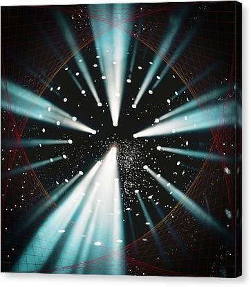Space Time Warp Canvas Print by John Haldane
