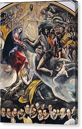 Spain, Castiglia Mancia, Toledo, Santo Canvas Print by Everett