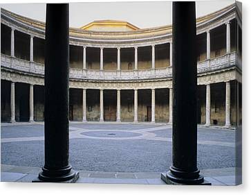 Spain. Granada. Alhambra. Palace Canvas Print by Everett