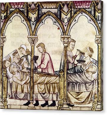Spain: Medieval Hospital Canvas Print by Granger