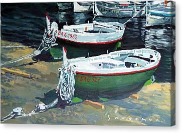 Spain Series 11 Cadaques Port Lligat Canvas Print by Yuriy Shevchuk