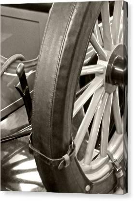 Spare Tire Canvas Print by Heather Allen