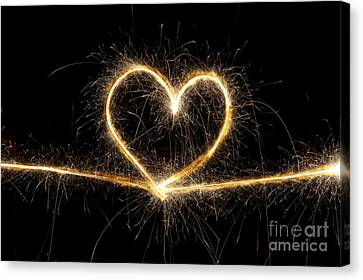 Spark Of Love Canvas Print by Tim Gainey