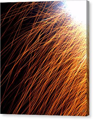 Sparks Canvas Print by JS Rose Photography