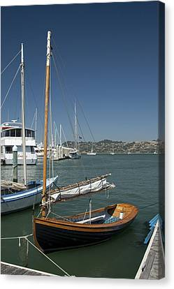 Spaulding Saiboat Sausalito Ca Img2033 Canvas Print by Greg Kluempers
