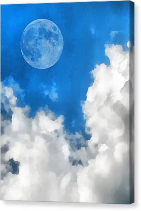 Speak To The Sky Canvas Print by Wendy J St Christopher