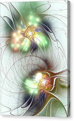 Special Bond Canvas Print by Anastasiya Malakhova