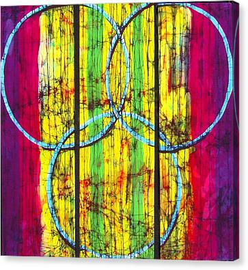 Spectrum Canvas Print by Kay Shaffer