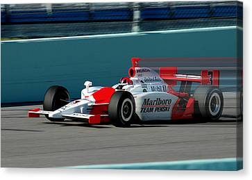 Speed Indy Canvas Print by Kevin Cable