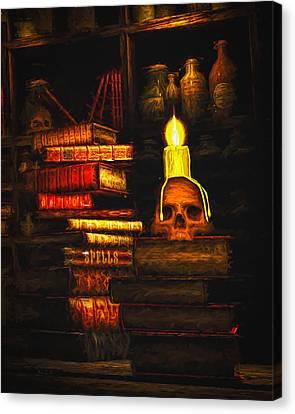 Spells Canvas Print by Bob Orsillo