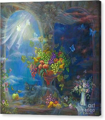Spells Canvas Print by Vladimir Nazarov