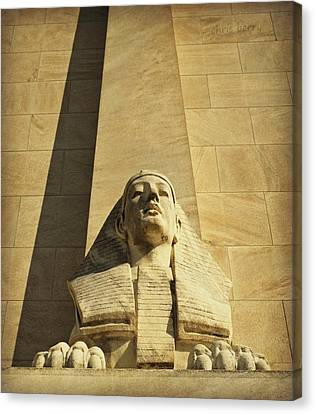 Sphinx Canvas Print by Chris Berry