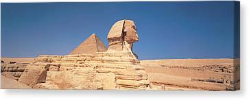 Sphinx Giza Egypt Canvas Print by Panoramic Images