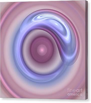 Spilled Silk Canvas Print by Victoria Harrington