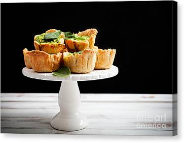 Spinach Pie Canvas Print by Kati Molin