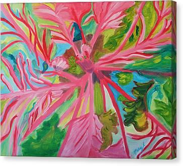 Spinning Wheels Canvas Print by Meryl Goudey