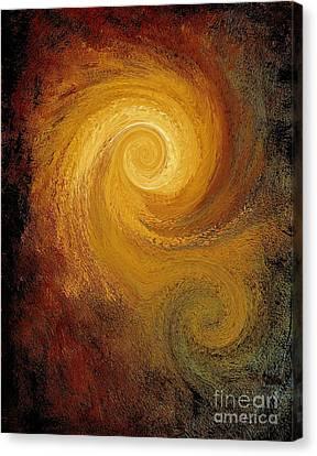 Spiral Galaxy  Canvas Print by Mike Grubb