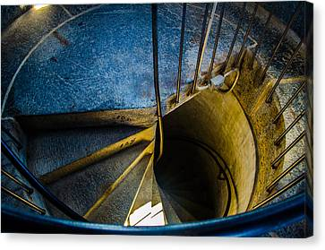 Spiral Into The Light Canvas Print by Jeff Ortakales
