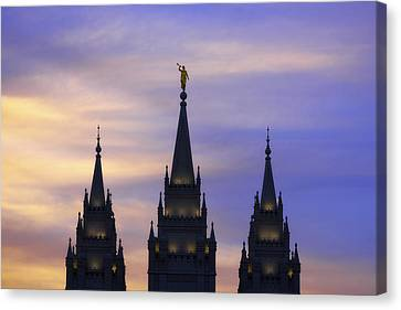 Spires Canvas Print by Chad Dutson