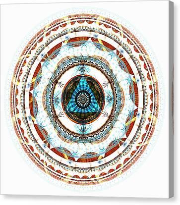 Spirit Circle Canvas Print by Anastasiya Malakhova