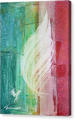 Spirit Of Christmas Canvas Print by Asha Carolyn Young