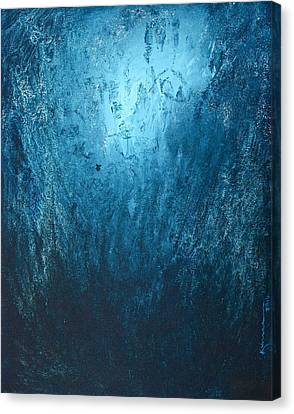 Spirit Of Life - Abstract 3 Canvas Print by Kume Bryant