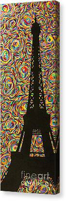 Spirit Of Paris Canvas Print by Sean Ward