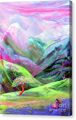 Spirit Of Spring Canvas Print by Jane Small