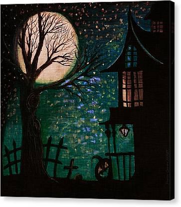 Spirit Of Wonder Canvas Print by Denisse Del Mar Guevara