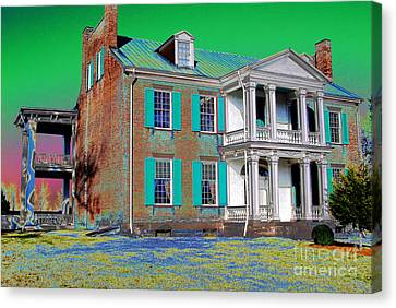 Spirits Of The Civil War Canvas Print by Francine Hall