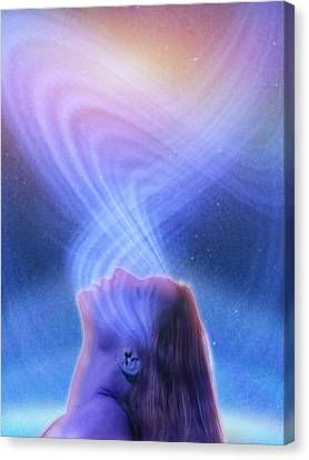 Spirituality, Conceptual Image Canvas Print by Science Photo Library