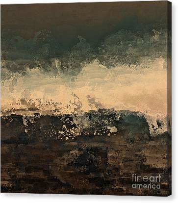 Distant Splash Canvas Print by Lonnie Christopher