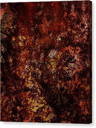 Splattered  Canvas Print by James Barnes