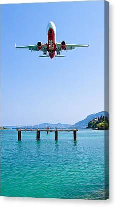 Splendid Landing Canvas Print by Viacheslav Savitskiy