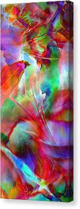 Splendor - Abstract Art Canvas Print by Jaison Cianelli