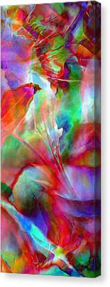 Splendor - Abstract Art Canvas Print by Jaison Cianelli